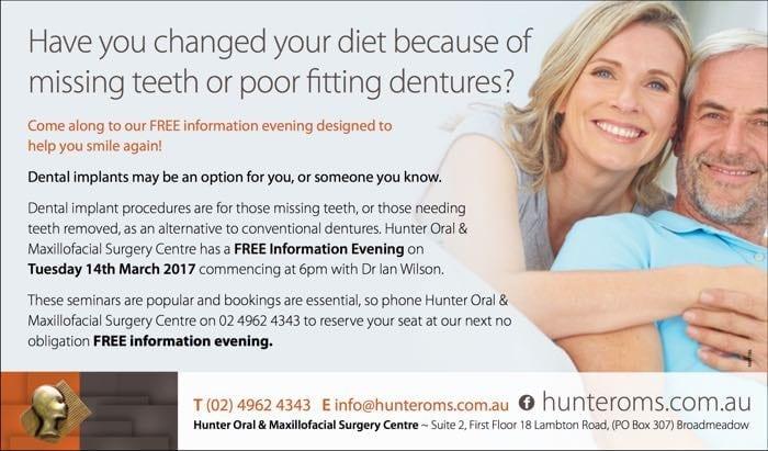 Hunter OMS information nights